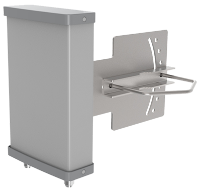 3D model of wireless sector antenna