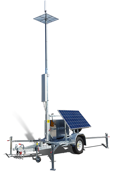 Remote Cellular Access Trailer