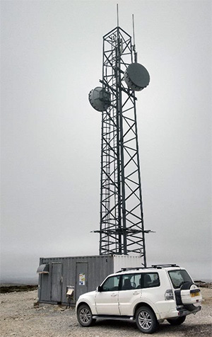Sure Falkland Islands Mobile Phone WiMAX and Backhaul Antennas