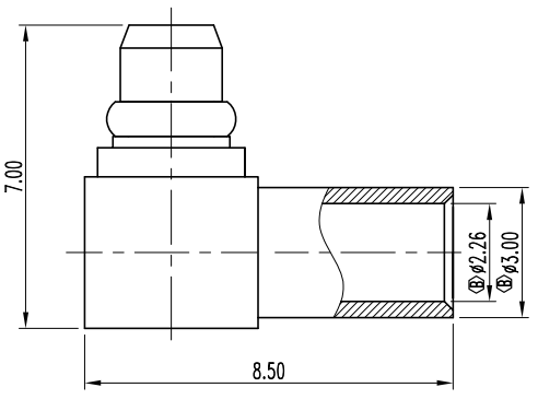 MMCX-M-RA-S-086_001 CAD Drawing
