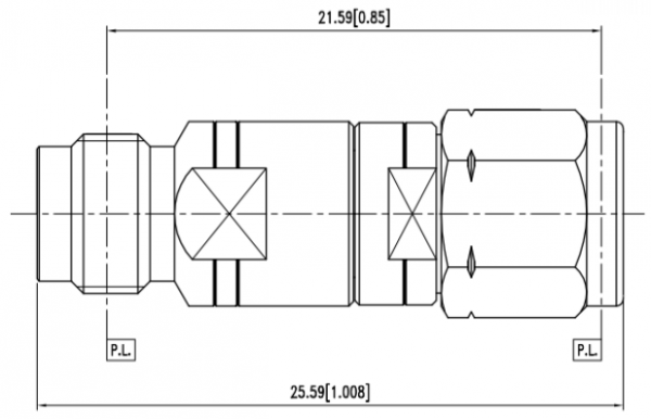 ADU2-VF1-QM1 cad drawing