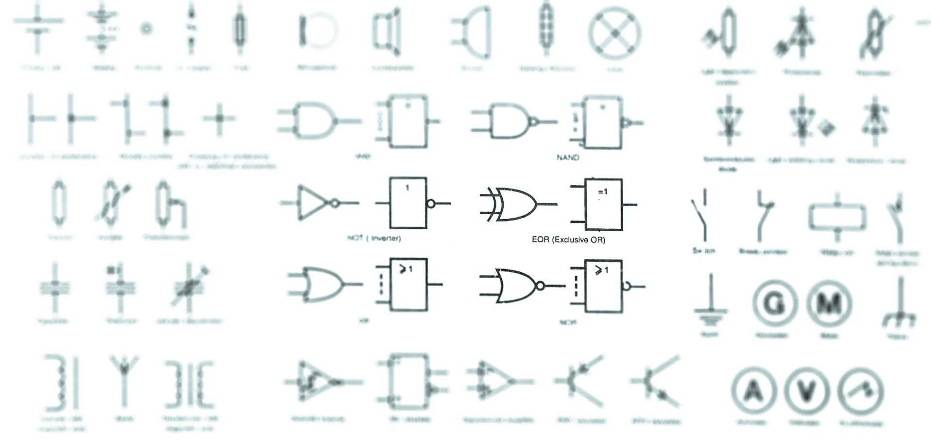 Rf Symbols  U0026 Diagrams