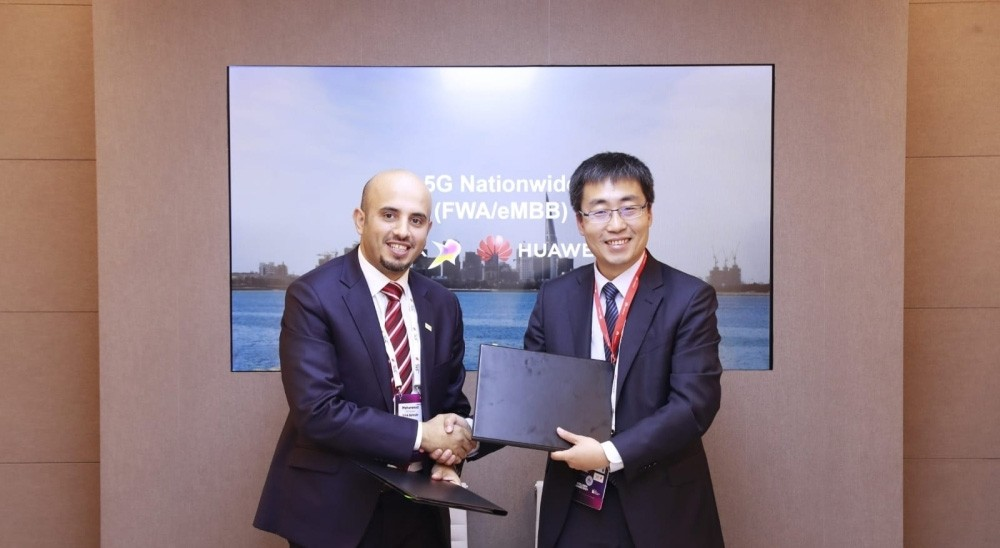VIVA Bahrain Signs Nationwide 5G Service Agreement with