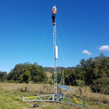 Deployable mobile coverage system in regional Australia