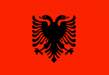 Albanian National Flag