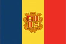 Andorra National Flag