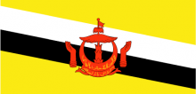 Brunei National Flag