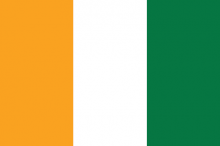 Ivorian National Flag