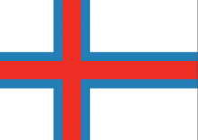 Faroe Islands National Flag