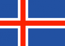 Icelandic National Flag