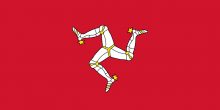 Isle of Mann Flag