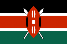 Kenyan National Flag