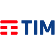 Telecom Italia Group TIM Logo