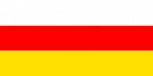 Flag of South Ossetia