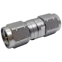 1.85mm V male to 1.85mm male precision adapter