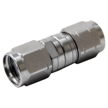 2.4 mm male to 1.85 mm male precision adapter