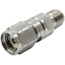 3.5 mm female to 1.85 mm male precision adapter