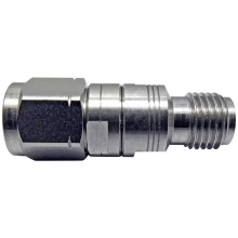 3.5 mm male to 2.4 mm female precision adapter