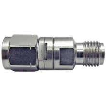 SMA female to 2.4 mm male Q precision adapter