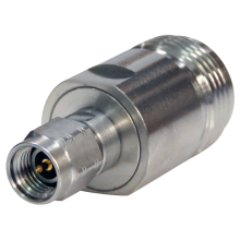 N female to 3.5 mm male precision adapter