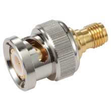 BNC male to SMA male adapter