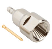 FME male plug RF connector