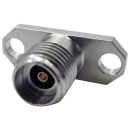 2.92 mm female two hole flange mount connector