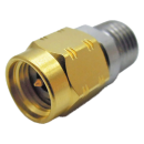 "2.92 mm male (k) straight clamp connector for 0.047"" semi-flex semi-rigid cables"
