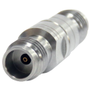 2.4 mm Q female to 1.85 mm K female precision adapter