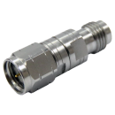 1.85mm V male to 1.85mm female precision adapter