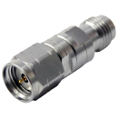 2.4 mm female to 1.85 mm male precision adapter