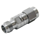 2.92 mm male to 2.4 mm female precision adapter