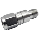 2.92 mm female to 2.4 mm male precision adapter