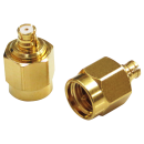 SMP female to SMA male adapter